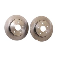 TOYOTA COROLLA 1.4 1.6 1.8 2.0D Rear Solid Brake Disc 2007 on