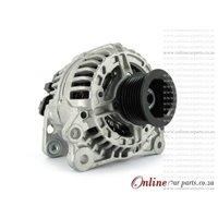 Audi A3 1.8T 98-03 AGU 8L1 90A 12V 6 Groove KCB1 2 PIN Alternator OE 028903028D 0124325003
