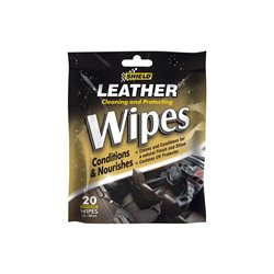 SHIELD Leather Care Wipes x20