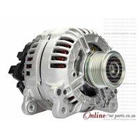 Audi A3 1.8T 98-03 AGU 120A 12V 6 Groove NCB1 Alternator OE 082903028E 0124515010
