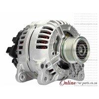 Audi 1.8 S3 98-00 APY AMK AUL 120A 12V 6 Groove NCB1 Alternator OE 082903028E 0124515010