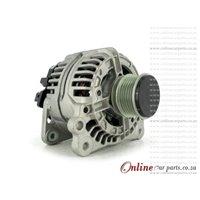 VW LT28 2.8 TDI 02-06 AUH 90A 12V 6 Groove KCB1 2 PIN Alternator OE 0124325035